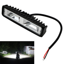 Leepee Led Koplampen 12-24V Voor Auto Motorfiets Truck Boot Tractor Offroad Werken Light 36W Led werk Licht Spotlight(China)