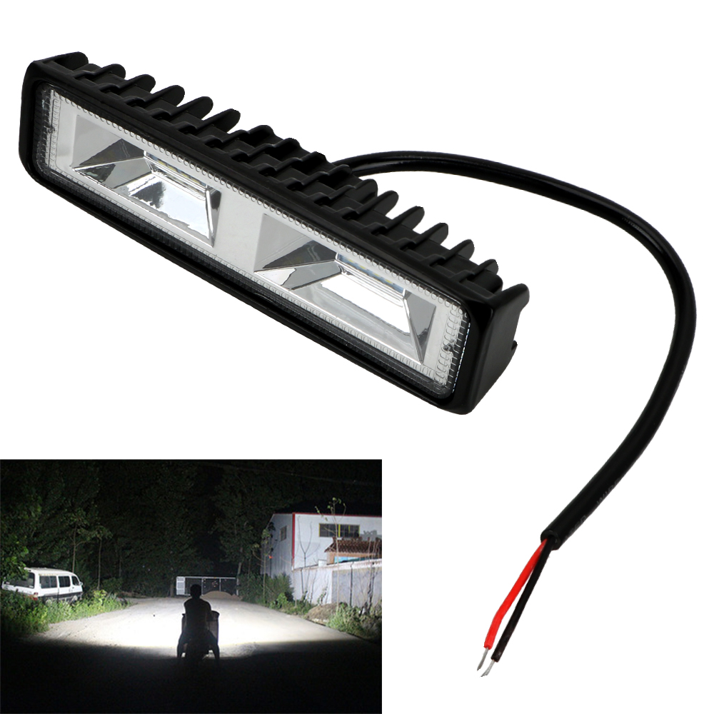 LEEPEE LED Headlights 12-24V For Auto Motorcycle Truck Boat Tractor Trailer Offroad Working Light 36W LED Work Light Spotlight