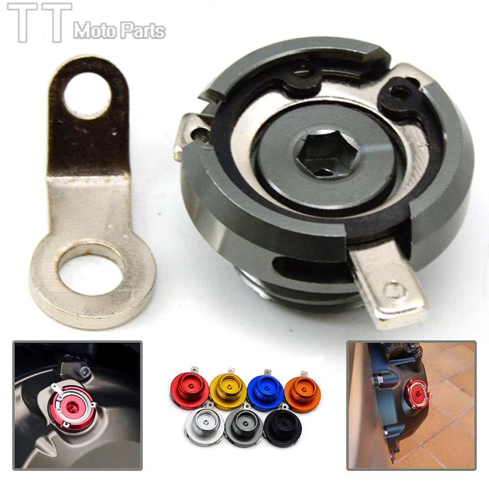 M20*2.5 NEW motorcycle CNC engine oil filler cap for Honda CBR500R CB500F CB500X ducati multistrada 1200 T-max motorcycle engine cover camshaft plug crankcase cap oil filler cover screw for honda cbr500r cb500f nc700 nc750 2013 2014