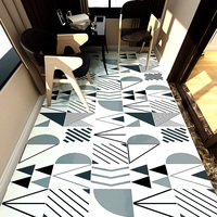Decorative washroom floor waterproofing floor refurbishing tiles wall stickers kitchen stickers bathroom slip proof stickers