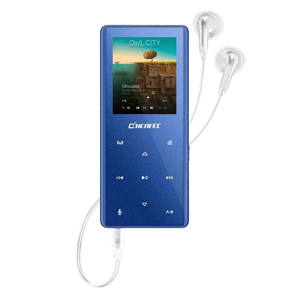 Bluetooth MP3 Player Touch Keys HIFI Music Player Video FM Radio Voice Recorder Mp3 Walkman,SD Card Up To 128GB