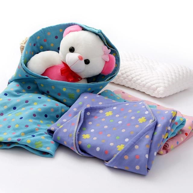 3 Layers Etamine Cotton Wrap Newborn 7 Style Infant Blanket Kids Swaddling Love Monkey Bebe Towl
