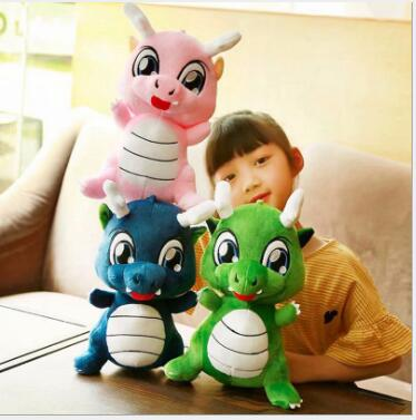 WYZHY Little Dinosaur Doll Q Edition Plush Toy Child Pillow Gift Decoration 30cm