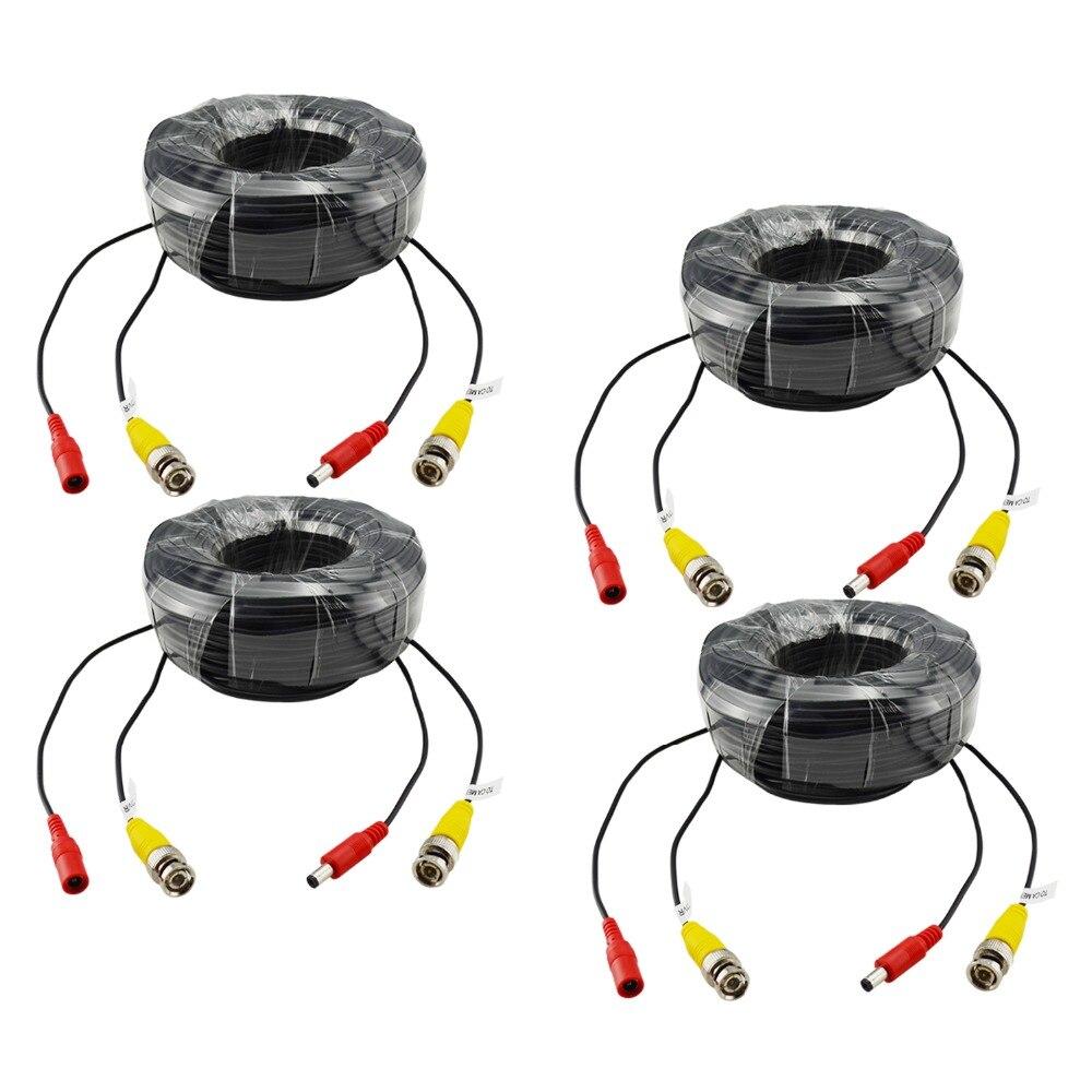 imágenes para ANNKE 4 X 100ft 30 M de Cámaras de Seguridad Video Cable de Alimentación BNC RCA Cable para DVR CCTV sistema