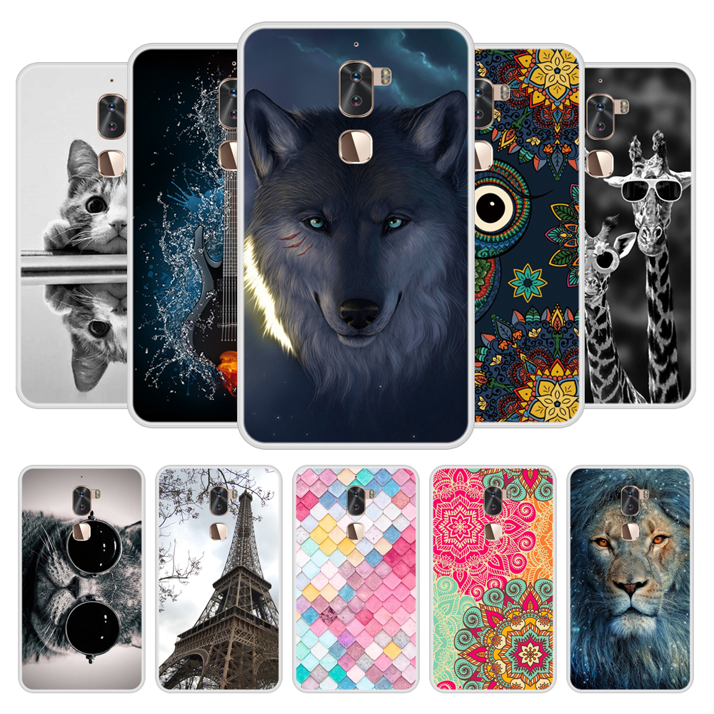 Case for LeEco Cool 1 Soft Silicone TPU Chic Patterned Paint Phone Cover for LeEco Cool1 Case