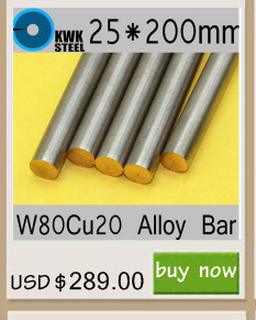 W80Cu20 W80 Bar Spot Welding Eletrodo Material