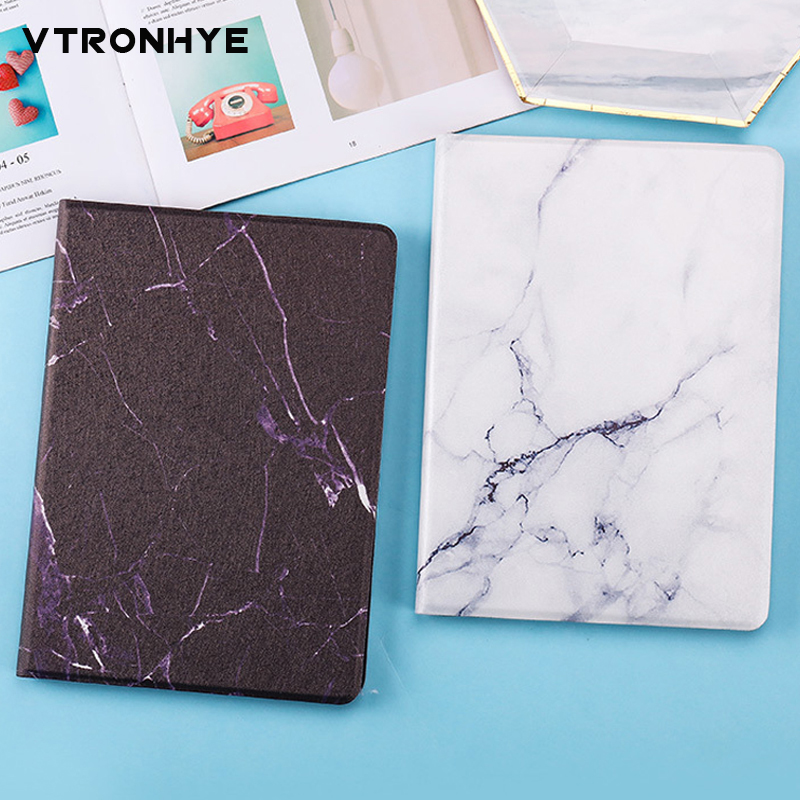 Marble Pattern series Tablet Cases for iPad Air 1/2 9.7 Slim Folding Stand Smart Cover for iPad 9.7 inch 2017/2018 Auto SleepMarble Pattern series Tablet Cases for iPad Air 1/2 9.7 Slim Folding Stand Smart Cover for iPad 9.7 inch 2017/2018 Auto Sleep