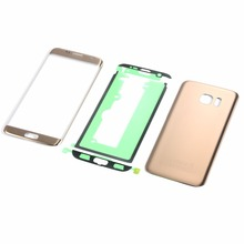 For Samsung Galaxy S7 Edge G935 G935F G935P Touch Screen Sensor Digitizer Glass Panel+Housing Battery Back Cover+Sticker