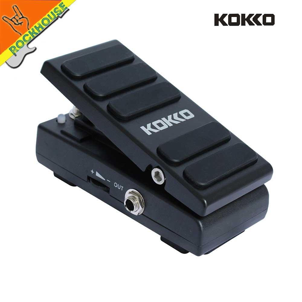 New Kokko Wah Wah Pedal Expression pedal Volume Guitar Effects Pedal 2 in 1 Analog Guitar WAH Stompbox True Bypass Free Shipping barbie wah