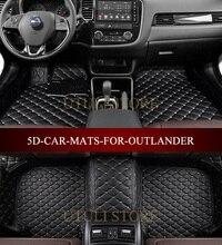 Mitsubishi_Outlander 2003-2017 için araba paspaslar özel fit araba tüm hava halı kat gömlekleri ayak paspaslar