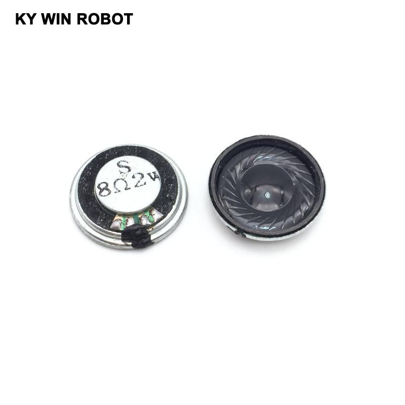 5pcs/lot New Ultra-thin Mini Speaker 8 Ohms 2 Watt 2W 8R Speaker Diameter 23MM 2.3CM Thickness 5MM