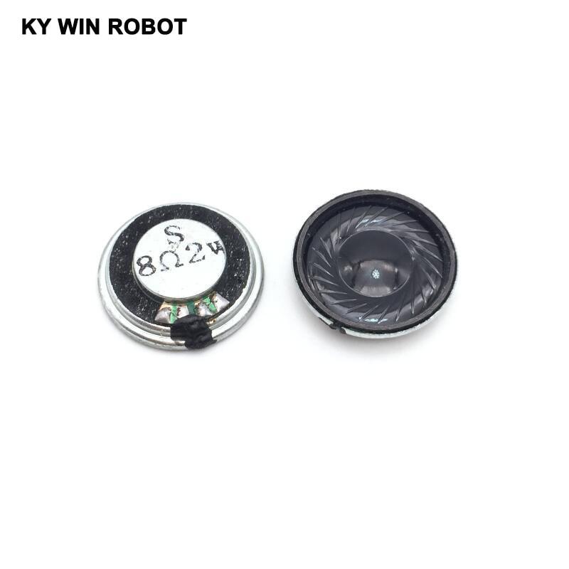 5pcs/lot New Ultra-thin Mini Speaker 8 Ohms 2 Watt 2W 8R Speaker Diameter 23MM 2.3CM Thickness 5MM