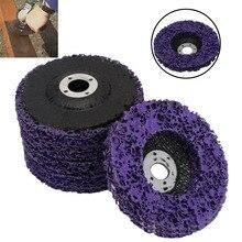 5 шт., прочные полиполосные дисковые колеса 100*16 мм, дерево, металл, краска, Удаление ржавчины, чистые абразивные инструменты для угловой шлифовальной машины Mayitr
