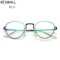 Fashion Glasses Frame Women Men Myopia Eyeglasses Frames Oculos De Grau Gold Color Fashion Eyewear Frames Fit Clear Lens YJ664