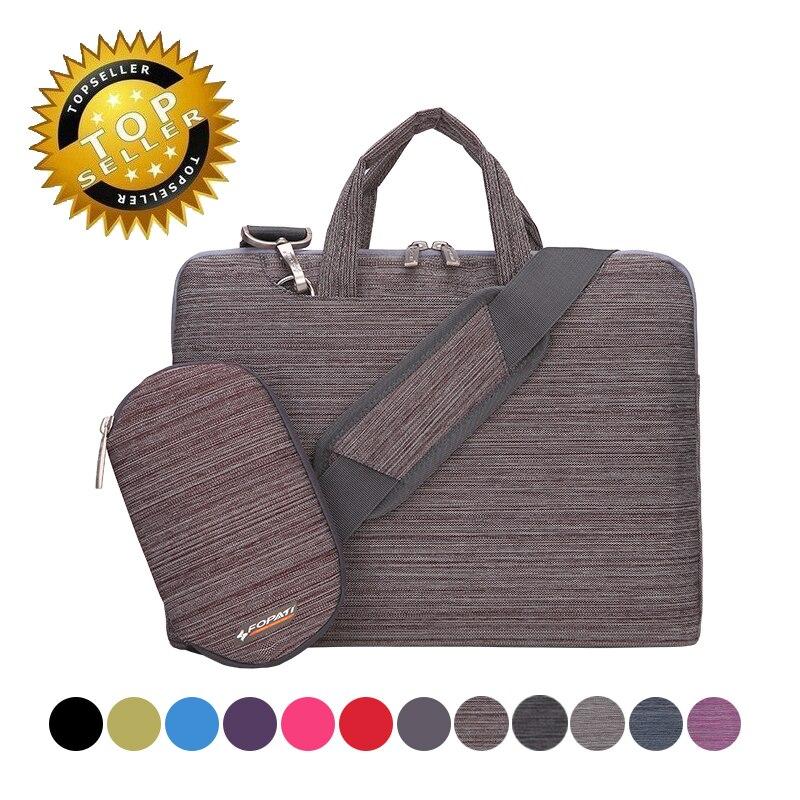 Polyester portable notebook case laptop bag for 11 12 13 14 15 6 inch Shoulder Messenger