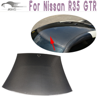 Carbon Fiber Car Roof Hoods Cover for Nissan R35 GT R GTR 2009 2015