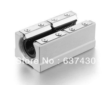 SBR50LUU / SME50LUU Twin Block Linear Slide unit Linear Motion Bearings belt driven long travel linear slide linear motion ball slide unit guide
