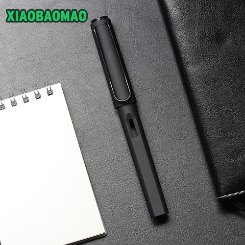 Image 2 - High grade business Fountain Pen Silicone Grip Extra Fine Nib (0.38 mm / 0.5mm) Black Body-in Fountain Pens from Office & School Supplies on AliExpress