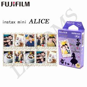 Image 2 - Fujifilm 10 sheets Instax Mini ALICE in Wonderland Instant Film fotopapier voor Instax Mini 8 7 s 25 50 s 90 9 SP 1 SP 2 Camera