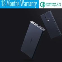 10000mah Power Bank 10000 mah Quick Charge 3.0 Powerbank Type C for Xiaomi Mi5 Samsung S8 Nexus 5X 6P Macbook 12 Battery