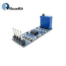 Lm358 módulo operacional do amplificador da amplificação do sinal do ganho de 100 vezes