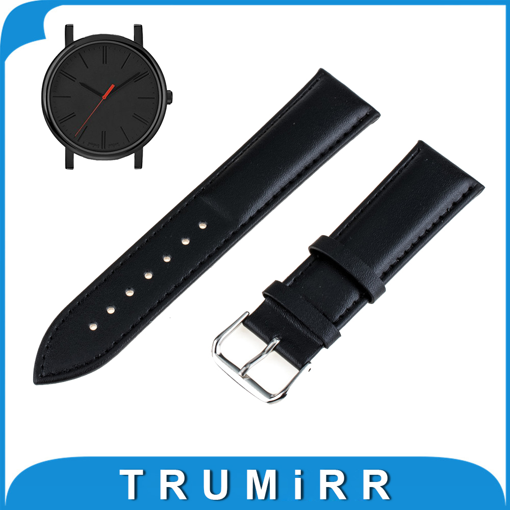 Genuine Leather Watch Band 16mm 18mm 20mm 22mm for Timex Weekender Expedition Classic Men Women Strap Bracelet Black Brown timex часы timex tw4b03500 коллекция expedition