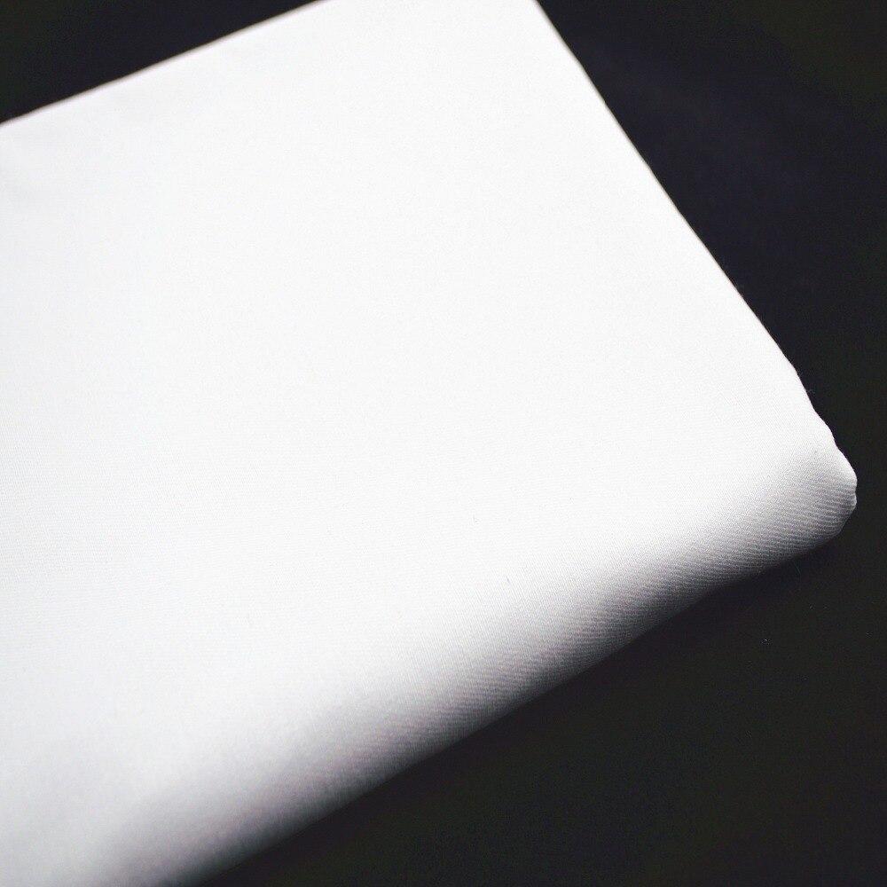 50*150 cm branco metro de tecido de algodão patchwork bundle tilda têxteis costura popeline diy pano cortinas telas tissus sentiu costura