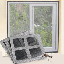 6pcs/lot Anti Mosquito Window Repair Patch Stickers Fly Bug Mesh Screen Protector DIY Magic Sticker Home Decoration Accessories