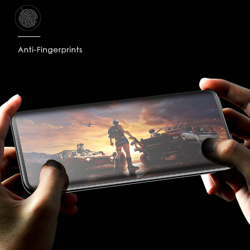CHYI Soft Curved Tempered Glass Matte Screen Protector for Oneplus 7t 8 Pro 4