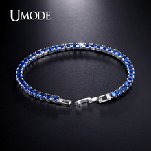 UMODE 5 Colors Cubic Zirconia Tennis Bracelet