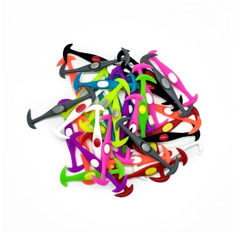 12pcs 3 Sizes Lazy No Tie Elastic Silicone Shoe Laces Athletic Running Sport Shoelaces Shoe Strings For NMD Sneakers ...