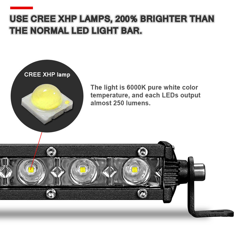 super slim single row led light bar (3)