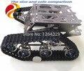 Estructura de Acero DOIT oficial Crawler Robot Chassiss/Tank Car Chassis para Coche de Control Remotor/DIY Juguete