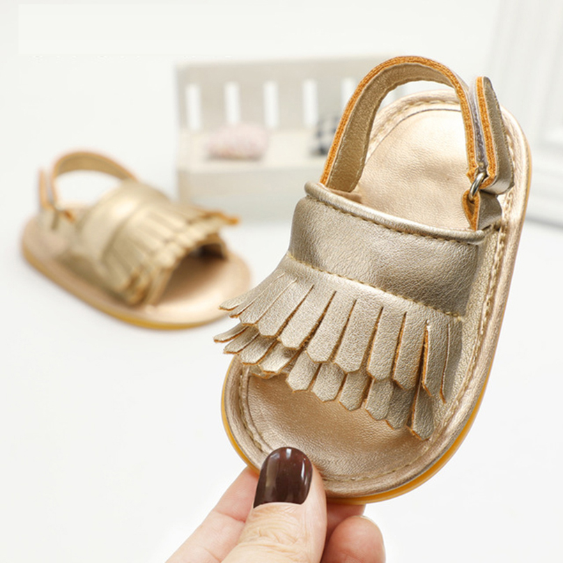 Baby girl boy shoes brand crib shoes sandals PU leather ...