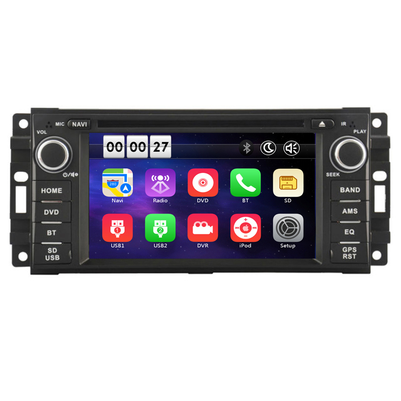 Car DVD GPS Navigation for font b Jeep b font Compass Grand Cherokee font b Liberty