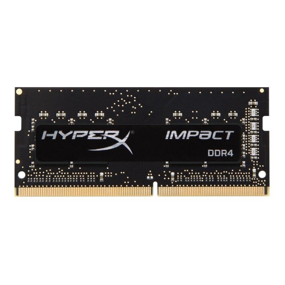 HyperX Impact 8 GB DDR4 2400 MHz, 8 GB, 1x8 GB, DDR4, 2400 MHz, 260-pin SO-DIMM, Noir