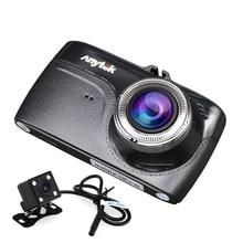Anytek G67 Автомобильные видеорегистраторы два объектива 1080 P full hd камера автомобиля для sony imx323 видеорегистратор Новатэк 96655 видео
