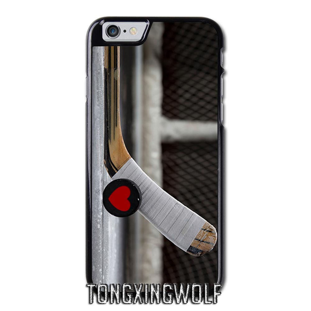 Play Ice Hockey Cover Case For Iphone 4 4s 5 5s 5c Se 6 6s
