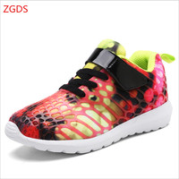 New 2018 High Quality Children S Shoes Size28 34 Spring Autumn Boy Breathable Sports Shoes Girl