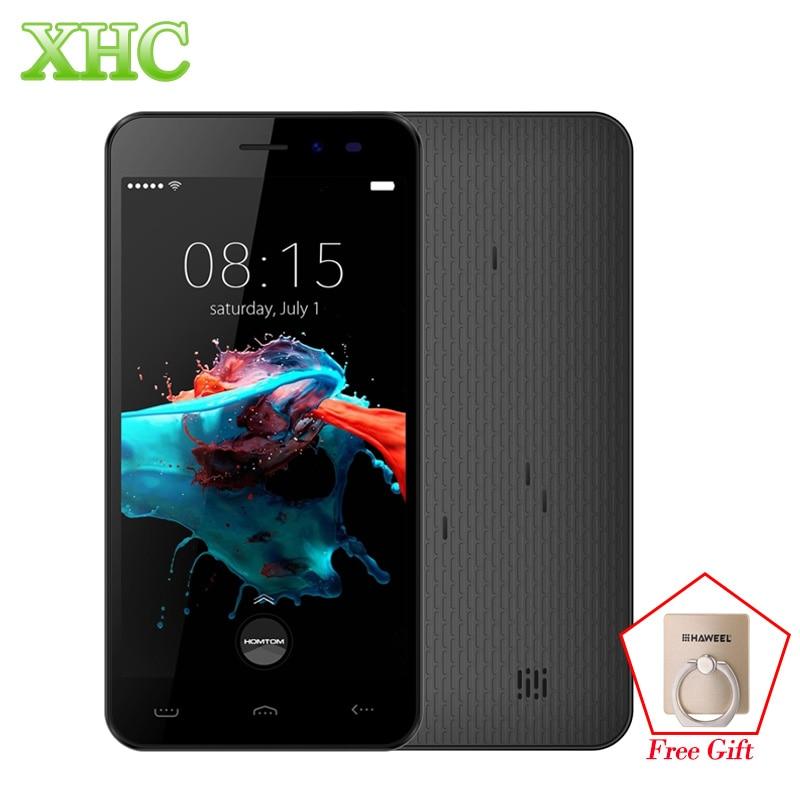 5.0inch HOMTOM HT16 3G WCDMA Smartphones 1GB RAM 8GB ROM MTK6580 Quad Core Android 6.0 Cellphones 1280x720 3000mAh Mobile Phone
