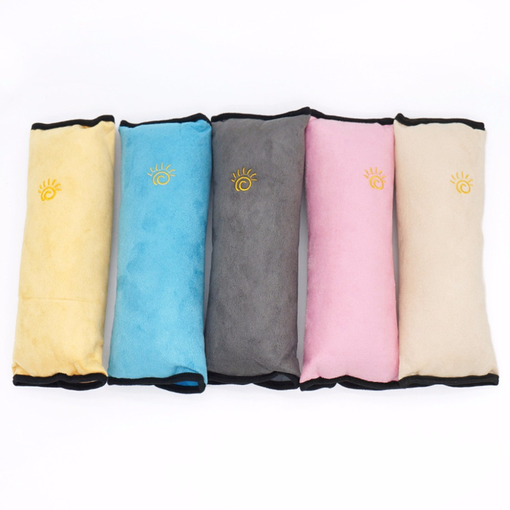 Stroller Carrycot Sleeping Pillow Cushions Car Seat Belt Strap Safety Shoulder Harness Protect Kid Pad Sleep Pillow Cushion