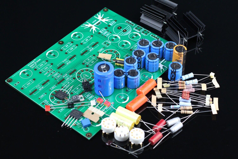 GZLOZONE V18 RIAA MM Tube phono stage amplifier kit base on EAR834 amp no tubes L3