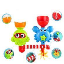 Barnleksaker gåva vatten badrum knäppa leksak tätning i badkar docka Baignoir mobil vacker
