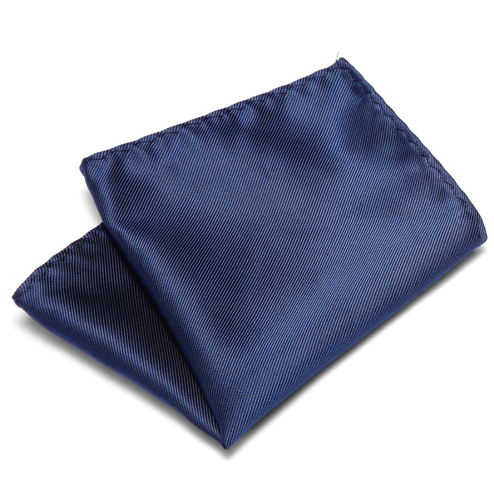 100% Silk Men's Handkerchief Polka Dots Chest Towel Hanky Wedding Banquet Christmas Pocket Square 50 Colors For Choose