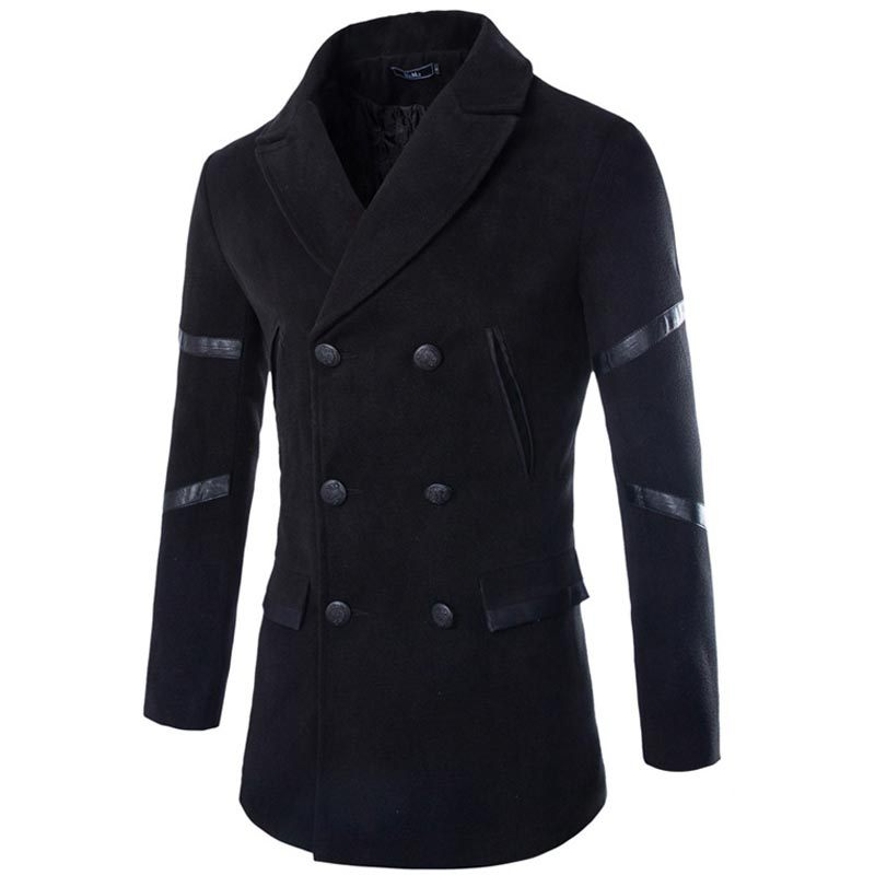 Popular Designer Pea Coat for Men-Buy Cheap Designer Pea Coat for ...
