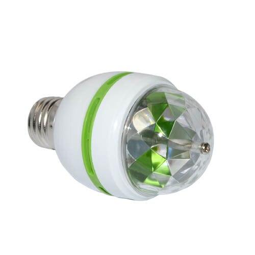 Image 3 - E27 3 ワットカラフルな自動回転 RGB Led 電球ステージライトパーティーランプディスコ家の装飾照明ランプ - AliExpress   グループ上の ライト