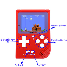 Mini CoolBaby Handheld Game Player Built-in 129 Classic Video Game Console Gift For Children 8-Bit Handheld Game Console