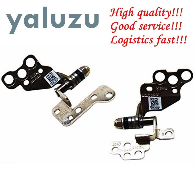YALUZU NEW For HP Envy M6 M6T M6-1000 M6-1100 M6-1200 LCD Screen Hinges Set 686913-001 AM0R1000100 AM0R1000200 Left & Right