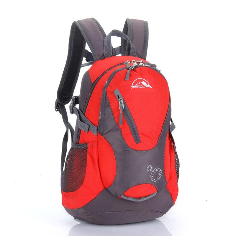 25L 방수 나일론 하이킹 캠핑 배낭 배낭 등산 가방 야외 스포츠 여행 배낭 학교 가방 유니섹스 FK0616