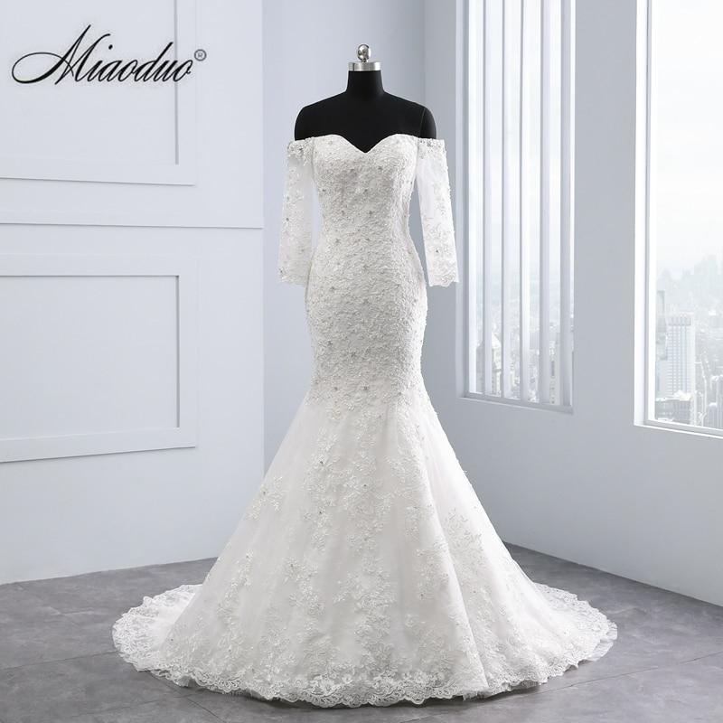 New Mermaid Wedding Dress Real Photo Lace China Wedding Dress Bridal Gown